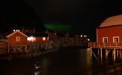 Aurora over Å (Dalis.V) Tags: lapland norway lofoten å night see winter