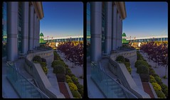 Government temple of Thunder Bay 3-D / CrossEye / Stereoscopy / HDRaw (Stereotron) Tags: thunderbay canada'sgatewaytothewest tbay lakehead thelakehead architecture europe germany deutschland crosseye crosseyed crossview xview cross eye pair freeview sidebyside sbs kreuzblick 3d 3dphoto 3dstereo 3rddimension spatial stereo stereo3d stereophoto stereophotography stereoscopic stereoscopy stereotron threedimensional stereoview stereophotomaker stereophotograph 3dpicture 3dglasses 3dimage twin canon eos 550d yongnuo radio transmitter remote control synchron kitlens 1855mm tonemapping hdr hdri raw