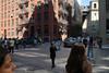 Once Upon a Time in Dumbo (Blinking Charlie) Tags: dumbo brooklyn newyorkcity nyc newyork usa 2017 sonydscrx100m3 waterstreet washingtonstreet tourists pedestrians brickbuilding shadow manhattanbridgeapproach blinkingcharlie