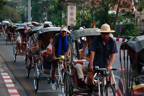 Cycle Taxis  - Chiang Mai