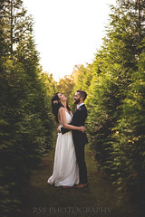 10.15.17 Gerry and Dave (Ryan S Burkett   RSB Photography) Tags: rsbphotography nikon d810 fixed focal dof bokeh prime natural light flare love wedding marriage bride groom portrait minimalist rustic theknot snapknot weddingwire wire blog beauty people maryland photoshop rim between trees hair