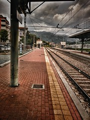 Como, Italy (HungryArtistMadCow) Tags: como italy lake rainy afternoon clody overcast silhouette station water
