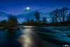 moonlight on the river (picsandarts) Tags: 80d tamron fluss nordhessen sunset sonne himmel germany canon longexposure langzeitbelichtung clouds sun river wolken water wasser sky sonnenuntergang eos lzb eder deutschland