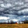Storm Clouds (Karen-Keating) Tags: dramaticsky redbarn vermont stormclouds