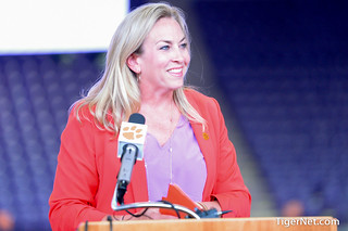 Amanda Butler named Clemson Women's Basketball Coach Photos