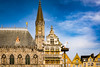 Ypres Cloth Hall, Belfry (andrewhardyphotos) Tags: architecture belfry belgique belgium grandplace grotemarkt nikond7200 sigma1750mmf28exdcoshsm wwi ypres ypresclothhall leper