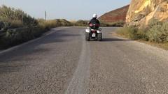 2015 Greece - May 7 - ATV Island Tour (Isabelle Brisson) Tags: europe greece 2015 may cyclades aegean mediterranean mediterraneansea solo solofemale solotraveller solofemaletraveller friends santorini island volcano atv