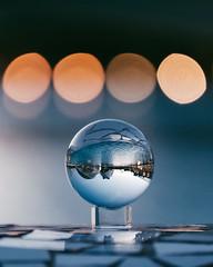 Magic Bokeh (soomness) Tags: lensball art science artistic arts architecture design fujifilmxt2 fujifilm fujinon fuji xt2 xseries xf55200mmf3548rlmois travel travelphotography valencia spain españa europe reflection