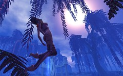 Fantasy Faire's Arrival (Vylna Daviau) Tags: p carrieslingerie thelittlebat psychobarbie empyreanforge darkpassions fantasyfaire2018 flashfiction americancancersociety