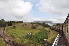 Il trenino a vapore ... vero! (Starlightworld) Tags: train steam trenoavapore snowdonia galles wales cymru starlightworld
