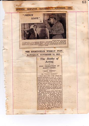 1931: Nov Review 2