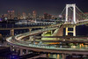 The Loop (kbaranowski) Tags: krzysztofbaranowski ©2013krzysztofbaranowski rainbowbridge night japan japaneseculture illuminated tokyo