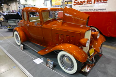 1st place - Street coupe pre 1935 (bballchico) Tags: grandnationalroadstershow awardwinner carshow rrodneybauman 1932 ford 5window coupe streetrod 1stplacestreetcoupepre1935