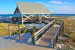 ST. GEORGE ISLAND STATE PARK PAVILLION (Wolf Creek Carl) Tags: stgeorgeisland stgeorgeislandstatepark beach ocean pavillion outdoors walkway sky florida
