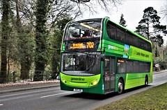 Reading Buses 1208 (stavioni) Tags: reading buses go11ldn 1208 green line greenline adl alexander dennis enviro 400 double decker bus