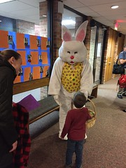 "Paul Meets the Easter Bunny at Knox • <a style=""font-size:0.8em;"" href=""http://www.flickr.com/photos/109120354@N07/26050340897/"" target=""_blank"">View on Flickr</a>"