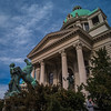_PS19509 (pouyan_safavi) Tags: belgrade serbia sculpture blu bluesky clou clouds