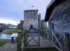 Dogwood2018week13 Leading lines (BUTEOGRAPHYGIRL) Tags: isleofbute rothesay castle leading lines dogwood2018 week13 sky blue flag scotland green moat water grass buildings history historical