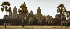 Reflections of Angkor (jameslf) Tags: angkor angkorwat architecture buildings cambodia lake pond reflections siemreap temples water