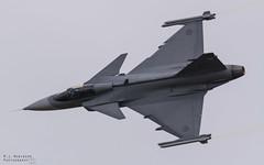 SAAB Gripen (M J Robinson Photography) Tags: 2017 arrivals riat thursday royalinternationalairtattoo raf fairford swedish sweden air force saab jas 39 c gripen fighter jet aviation photography nikon d7100 nikond7100