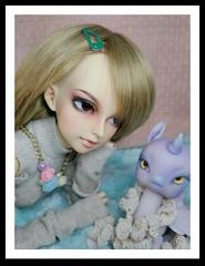 Marg and Missy Macaron (KiwisBitterSweet) Tags: fairyland minifee mnf minifeelishe lishe slimmsd msd bjd aimeraidoll aimerai doll 112specialdoll 112 special missluna tiny
