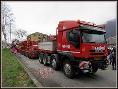 fagioli trasporto turbina (DaveFuma) Tags: iveco trakker 560 trasporto eccezionale trattore stradale autocarro camion wide load truck lorry lkw schwertransporte