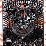 Xilografia/stencil, Daemon, 2018 thumbnail