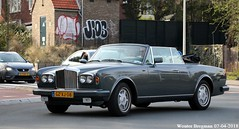 Bentley Continental 1987 (XBXG) Tags: gzxj08 bentley continental 1987 bentleycontinental v8 cabriolet cabrio convertible roadster tourer overveen nederland holland netherlands paysbas luxury youngtimer old classic british car auto automobile voiture ancienne anglaise uk vehicle outdoor