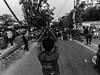 Dhaka Street #177 (سلطان محمود) Tags: dhaka dhakastreet999 bangladesh sherebanglanagar 2018reformquotareformquotabd xiaomi yi camera baby man protest city lowlight low