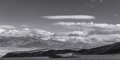 20180314_Death_Valley_022 (petamini_pix) Tags: california deathvalley desert deathvalleynationalpark landscape clouds dramaticsky bigsky shadows shadowandlight mountains panorama panoramic highway190 blackandwhite blackwhite bw monochrome grayscale