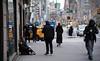 New York Street - Does anyone see me (bobglennan) Tags: newyorkcity streetscene streetlife nikond750 nikon nikkor philadelphiaphotographer life lifescene broadway