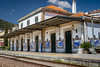 Pinhão train station (Leaning Ladder) Tags: pinhão portugal railroad mural tile azulejos art blue wine dourovalley leaningladder canon 7d mkii trains