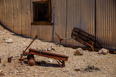 Remnants of a Life (Jeffrey Sullivan) Tags: abandoned rusty wagon ironing board death valley national park route landscape nature travel photography furnace creek california usa canon eos 6d photo copyright april 2018 jeff sullivan