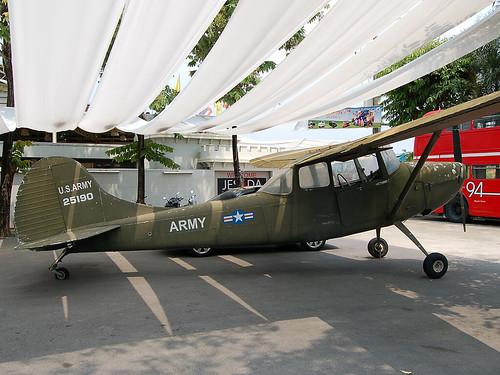 25190 Cessna O-1A Bird Dog (in false markings)