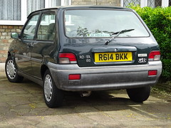 1998 Rover 100 Ascot (Neil's classics) Tags: vehicle rover ascot 1998