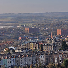 UK - Bristol - view from Cabot Tower