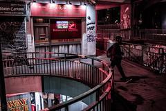 Haymarket Walk, Bristol, UK (KSAG Photography) Tags: urban street streetphotography city night nightphotography bristol uk england unitedkingdom britain europe wideangle nikon march 2018 moody hdr