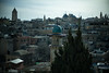Rooftop view of Jerusalem (michael.mu) Tags: jerusalem muslimquarter theleicameet architecture leica m240 50mm noctilux leicanoctiluxm50mmf095asph islamic minaret austrianhospice panorama