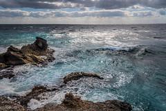 mouvementée (Hélène Baudart) Tags: cancun mexique mer orage