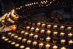 one for ...... (Chrisnaton) Tags: candle faith burningcandles hope churchcandles