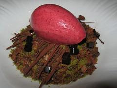 Sepia Forest Floor Dessert (gro57074@bigpond.net.au) Tags: michelinstar finedining dessert forestfloor sepia