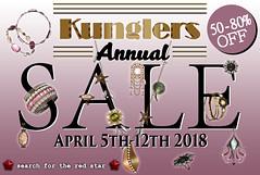 KUNGLERS SALE 2018 (AvaGardner Kungler) Tags: kunglers avagardnerkungler secondlife jewelry sale annual promoção liquidação joias digital virtualworld