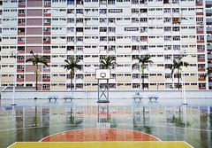 (Stefano☆Majno) Tags: choihung choi hung estate public housing house basket basketball court hongkong hong kong exterior analogica lomocolors architecture ultra packed crowded stefano majno lomography film 400 archilovers aia china chinese residential plulic 28mm contaxg1 contax g1 lens analog analogue filmisnotdead photography outfocused focus lomo lomofilm shootingfilm sadness view perspective vintage camera travelling traveler edificio finestra architettura