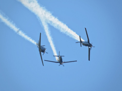 RNZAF Black Falcons' T-6 Texan II