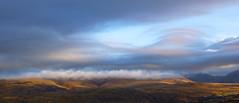 Waking World (mandysp8) Tags: mountains mist sunrise strata clouds landscape horizon country cumbria wasdalevalley panorama sunset