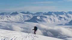_DSC1908 (Gaute Bruvik) Tags: fjell himmel natur nordfjellet randonee ski sky skyer snø tur tåke vinter