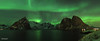 La notte artica di Reine (Fabio Bianchi 83) Tags: reine notte night notteartica arcticnight norvegia norway norge nord north scandinavia auroraboreale auroraborealis northernlight travel viaggiare lofoten isolelofoten lofotenislands