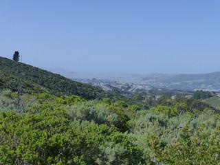 Mount Tamalpais & San Francisco from Sweeney Ridge, Golden Gate National Recreation Area (GGNRA)
