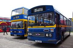 IMGP8971 (Steve Guess) Tags: brooklands weybridge surrey england gb uk bus cobham rally lbpt london museum metrobus aec reliance duple leyland olympian jut109v