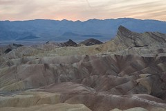 Zabriskie Point Sunset (thedailyjaw) Tags: deathvalley deathvalleynationalpark usnationalpark nikon layers saltedearth manlybeacon convolutions marbling marble colored sunset